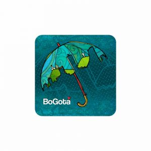 Portavasos – Paraguas silueta