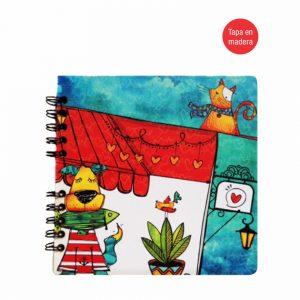 Cuaderno espiral – Cat & Dog