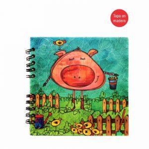 Cuaderno espiral – Pig