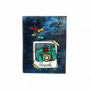 Porta pasaporte cámara