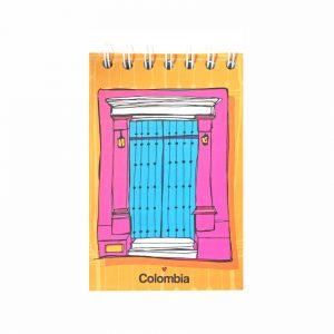 Libreta de bolsillo – Puerta Amarilla